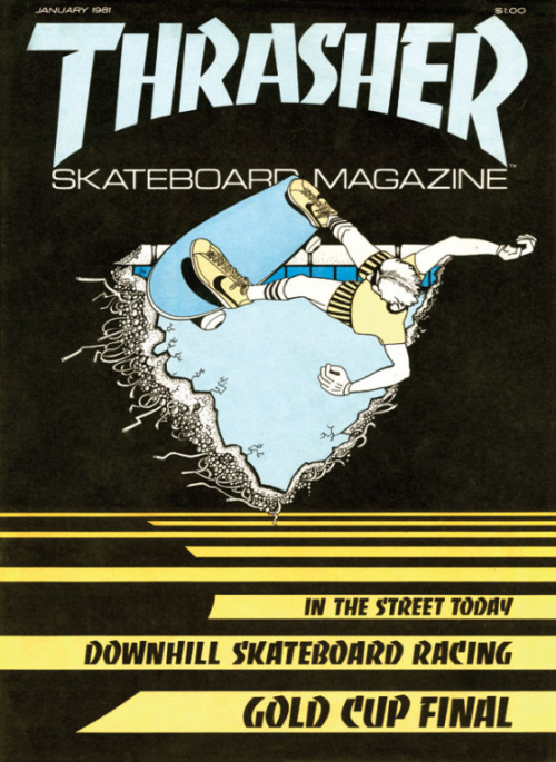 Thrasher first issue