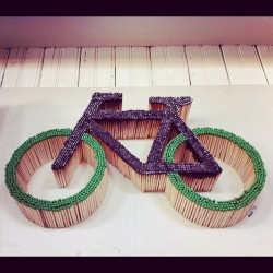 """Bike"" by Allison Vandever $120 #art #bikes #bicycle  (Taken with instagram)"