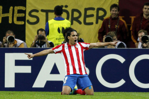 Falcao Rey en Bucarest FOTO: JOSE ANTONIO GARCIA SIRVENT - MD  (via Lo mejor de la Final)