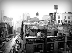 Downtown Graffiti in New York City - Black and White on Flickr.