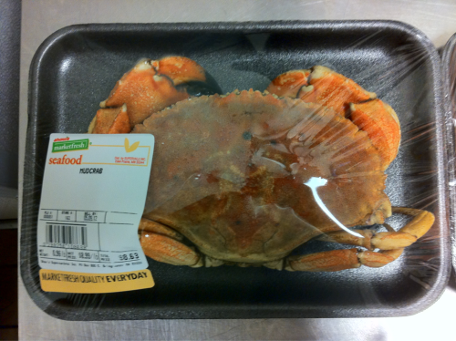 fuckingnerdrage:  Fresh Mudcrab anyone?