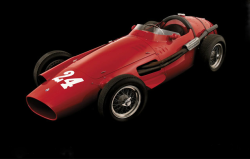 "Maserati 250F, 1956. Photo by James Mann, from the book ""The Art of the F1 Racing Car"""