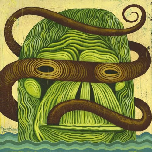 "pj-el-libre:  ""Ape and the Snake"" by Doug Boehm"