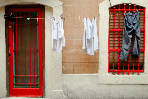 Laundry by SurfaceSpotting on Flickr.