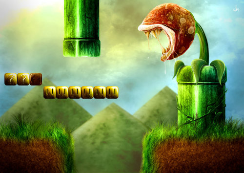 mallox:  Super Mario Level by *xxEpicxx