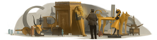 "Today's Google Doodle Celebrates Discoverer of King Tut: Howard Carter ""Can you see anything?"" ""Yes, wonderful things."" That was the exchange between Lord Carnarvon and Howard Carter as Carter breached the tomb door for the first time. The discovery of King Tut's tomb has given scholars and explorers a century of inspiration, and a window into the past. You may have heard of the ""Mummy's Curse"", the supposed early deaths of many of Howard's team after entering Tut's tomb. Don't worry, science is all over that, debunking the suspicion and burying that rumor deep in the ground. Bonus: Here's a replay of a live chat Science magazine did with two mummy experts about the nitty gritty of being a mummy researcher."