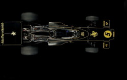 "Lotus 72, 1970. Photo by James Mann, from the book ""The Art of the F1 Racing Car""."