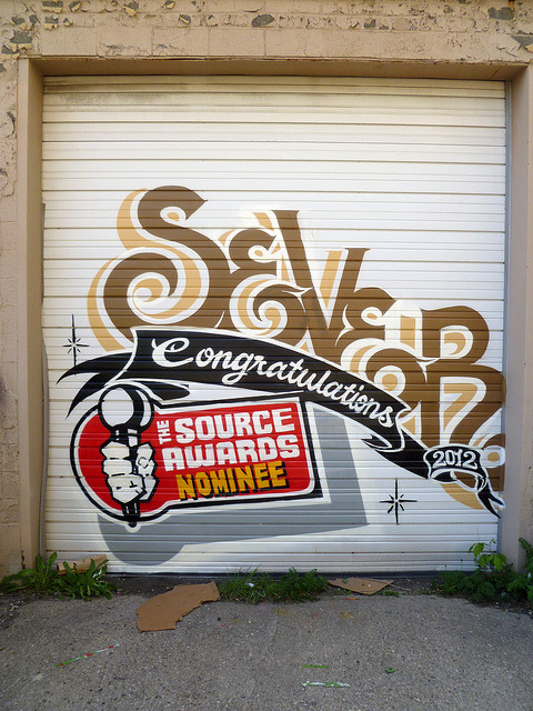 SEVER. Detroit 2012 on Flickr.Sever. #Detroit #Graffiti