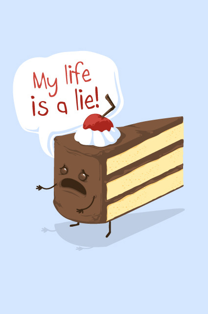 insanelygaming:  My Life is a Lie Created by Philip Meagher