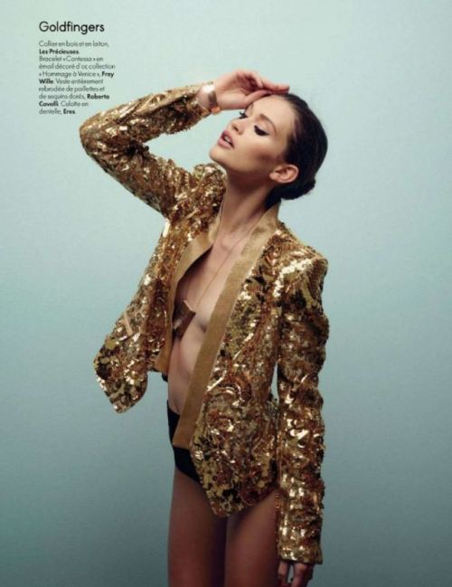Gregor Collienne for Elle Belgique April 2012