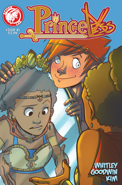 "MORE FREE PRINCELESS Chapter one was free on Bleeding Cool, but that's not enough for us!  Only one issue of Princeless was nominated for ""Best Single Issue"" and that is Issue 3.  We want you to read what they read.  READ, LIKE, REBLOG, and VOTE PRINCELESS FOR EISNER! http://www.actionlabcomics.com/slide/for-your-consideration-the-eisner-nominated-princeless/"