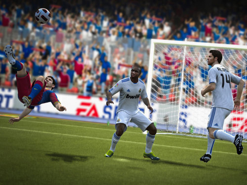 "Did you know FIFA 12 sold 3.2 million copies in its first week of availability, up 23 percent over FIFA 11's performance. This makes it the ""fastest selling sports game ever"", according to publisher EA."