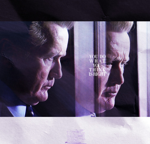 speakfree:  The West Wing, 5x22 Memorial Day  You get the best information, you consider all your options, you look at the potential good… and you do what you think is right.