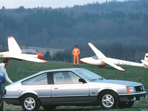 1978 Opel Monza (OK, so technically it's Cars with Gliders)