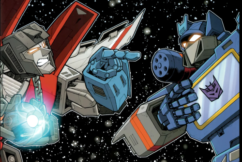 This picture is amazing because of reasons because of Starscream's expression.