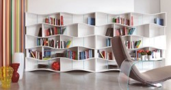 micasaessucasa:  ONDA Modular Bookcase by Angelo Tomaiuolo for Tonin CASA