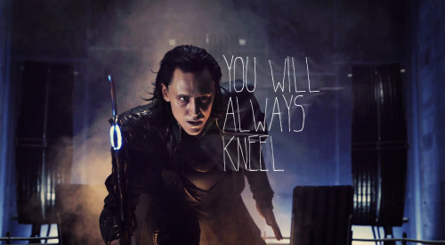 kitty-lili:  You were made to be ruled.  So, I want a movie where Loki and Magneto are best buds who bond over hating humans and haberdashery. You know you want this too. (Meanwhile, Professor X and Thor enjoy hot beverages and assure each other that peace is an option and eventually certain stubborn people will realize this.)