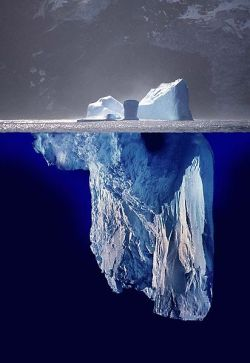 Iceberg straight ahead