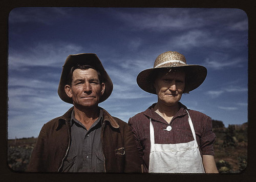 Jim Norris and wife, homesteaders, Pie Town, New Mexico (LOC) by The Library of Congress on Flickr.Look at the photo. Consider what has has just happened here, or what is about to happen here. Who has been here? Who will come here and and what will they do? What kinds of interactions can you imagine? Write one leaf about these or other things that occur to you upon looking at the picture. Do not allow yourself to be limited by what you see. Go.| Write One Leaf + about + ask + random + facebook + twitter | sponsors + You Are a Dog [ Kindle | Google | iBookstore ]