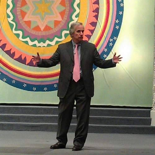 Henry Winkler, the Fonz (Taken with Instagram at Temple Israel)