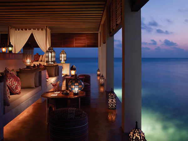 Maldives: Four Seasons Resort Making this a dream destination…