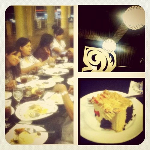 The long week's cure #picstich #igers #instadaily #allme #family #dinner #celebration #stepsofrome #plazueladeiloilo #instalove #instagood  (Taken with instagram)