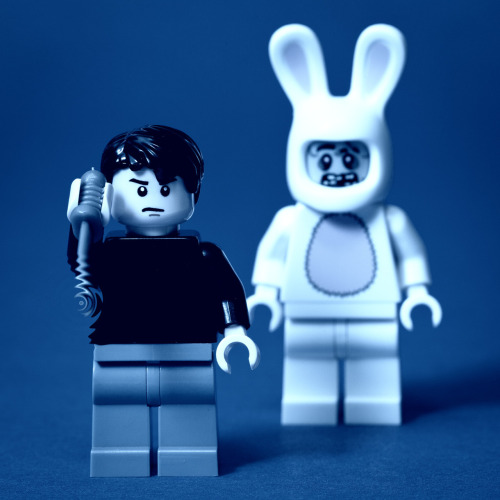 legoexpress:  LEGO Donnie Darko by pong0814, on Flickr