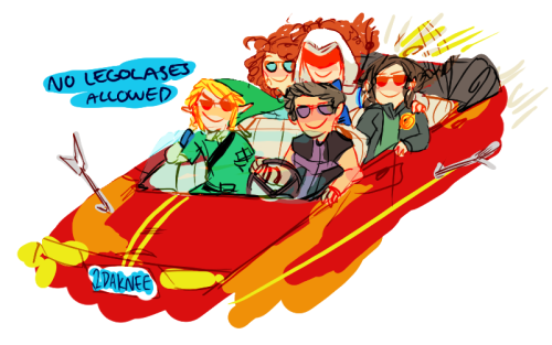 snoipahkat:  GET IN LOSER WE'RE GOING ARCHERING