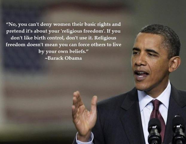 I agree entirely. thank you Obama, for being the first president ever to have the guts to say such 'controversial' things while in office. you have my vote entirely.