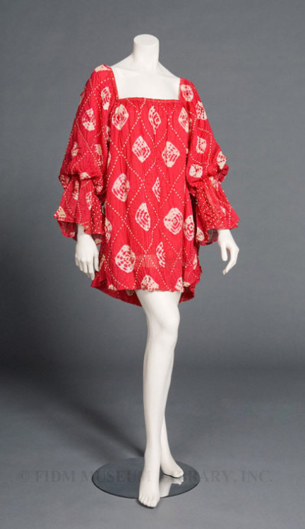 Dress Rudi Gernreich, 1967 The FIDM Museum