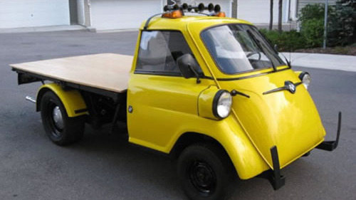 carmonday:  BMW Isetta Pickup - priceless