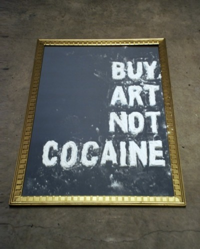 Buy Art, Not Cocaine. #SocialFlyte @1DOPEKEV @_FERNANN ᵀᴴᴱ$OCI∆L FLY✞€ ™
