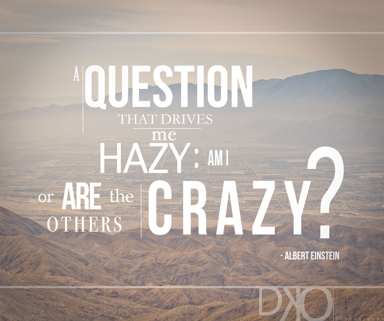 "ahouseinthetree:  ""A question that drives me hazy: am I or are the others CRAZY?""- Albert Einstein  Photo from DKOphotography  Check out the video the goes with the photo!  http://vimeo.com/41811263"