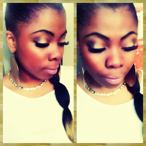 MakeUp i did for my boo Nanagabbana! xo