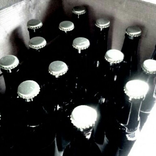 #GlamLife #MayPhotoADay Day 9: #beer that my friend brewed. One is saved for me when I end my alcohol diet! (Taken with instagram)
