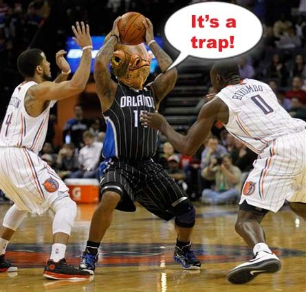 It's a trap!Idea from #DDL commenter DC. #DDLTweets