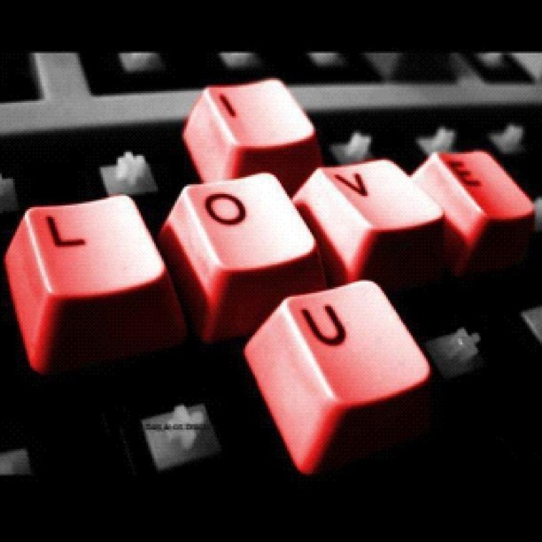 #love #keyboard  (Taken with instagram)