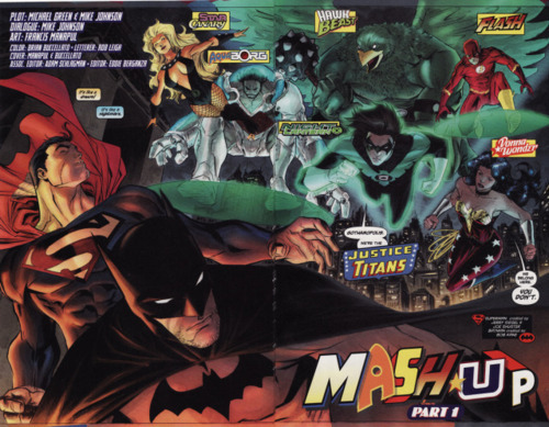 Why do I not own this story line? I need to collect the Superman/Batman: Mash-up story line.