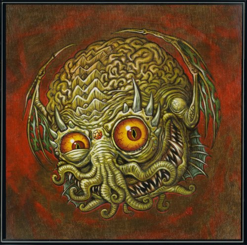 ianbrooks:  The Ball of Cthulhu by James Groman For Cthulhu Cthursday and all those 80's babies out there who, like myself, nostalgia hard for Madballs.  Artist: blogspot (submitted by m' man XombieDIRGE)