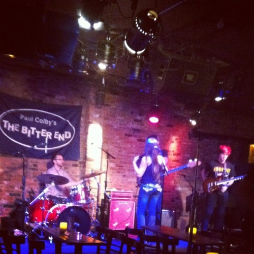 Sound check! (Taken with Instagram at The Bitter End, West Village, NYC)