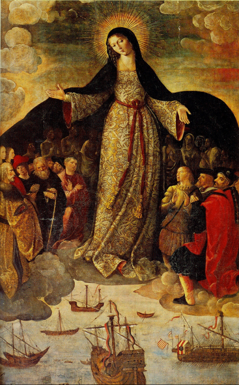 "signorcasaubon:  ""La Galeona""; or the Virgin of Navigators"