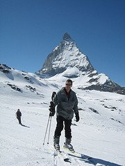 I am Francois Raffoul, with a picture where I am skiing the Matterhorn. I am professor of Philosophy at Louisiana State University. I specialize in continental philosophy, with an emphasis on Heidegger, Derrida and Nancy. I have recently published a book, The Origins of Responsibility, and preparing a new monograph on the event in contemporary thought.