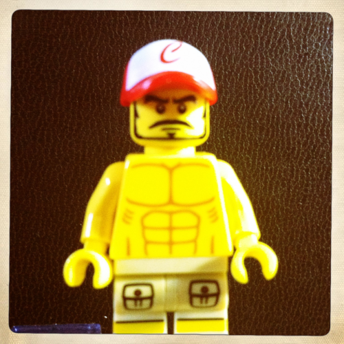 Lego me is ripped!
