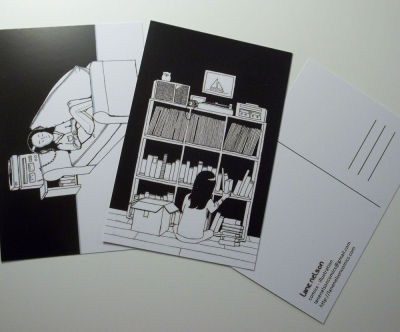 so, I got some more postcards in, if you want any you can get them here! two for $1.00