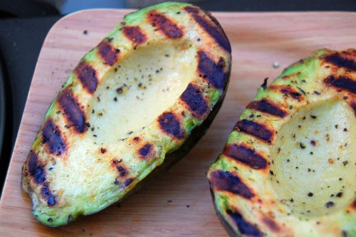 I love grilling avocados or filling them with feta cheese crumbles, minced garlic, spices, drizzled with EVOO and broiling.