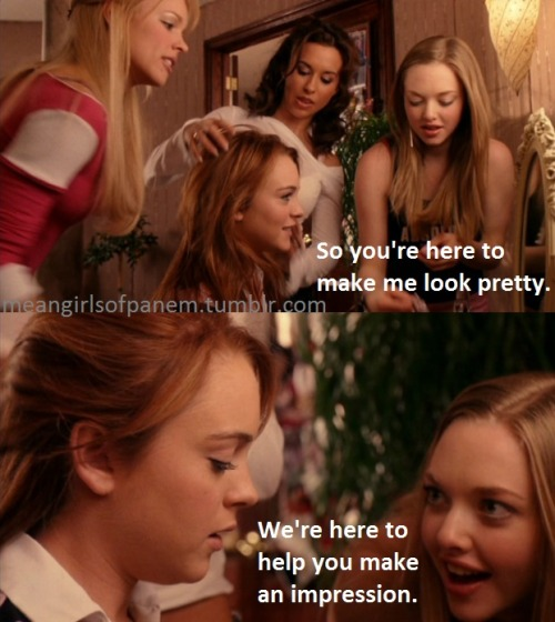 A little Panem brought to Mean Girls