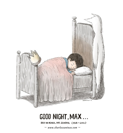 teachingliteracy:  RIP Maurice Sendak by *minitreehouse