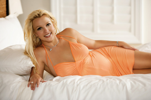 Britney Spears photoshoot for OK! 2006