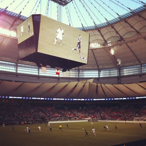 Let's go #whitecaps  (Taken with instagram)