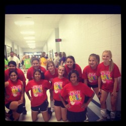 Summer Volleyball league #volleyball #summer #love #friends (Taken with instagram)